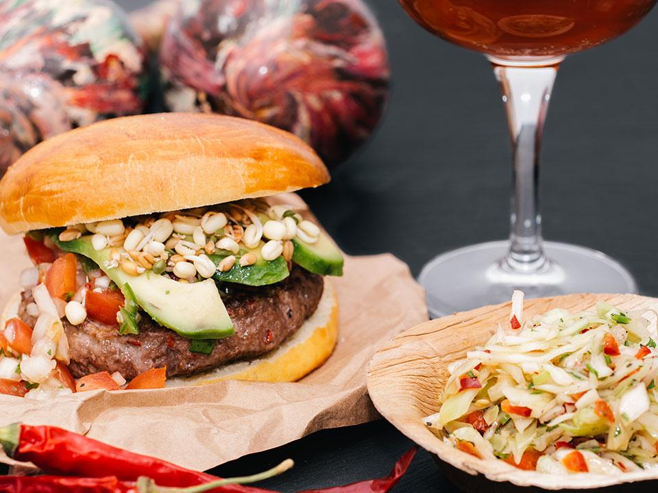 Hot Salsa Burger
