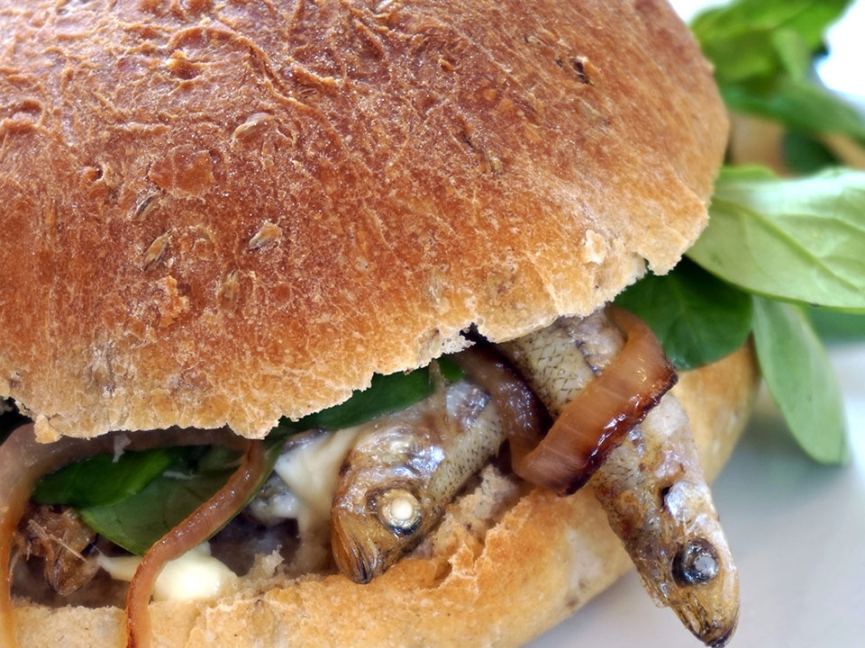 Frank'n'Fried Fischli Burger