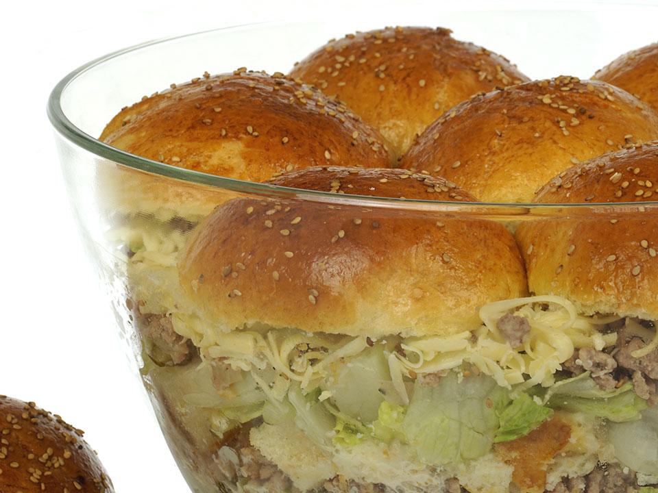 Eva's Burgersalat